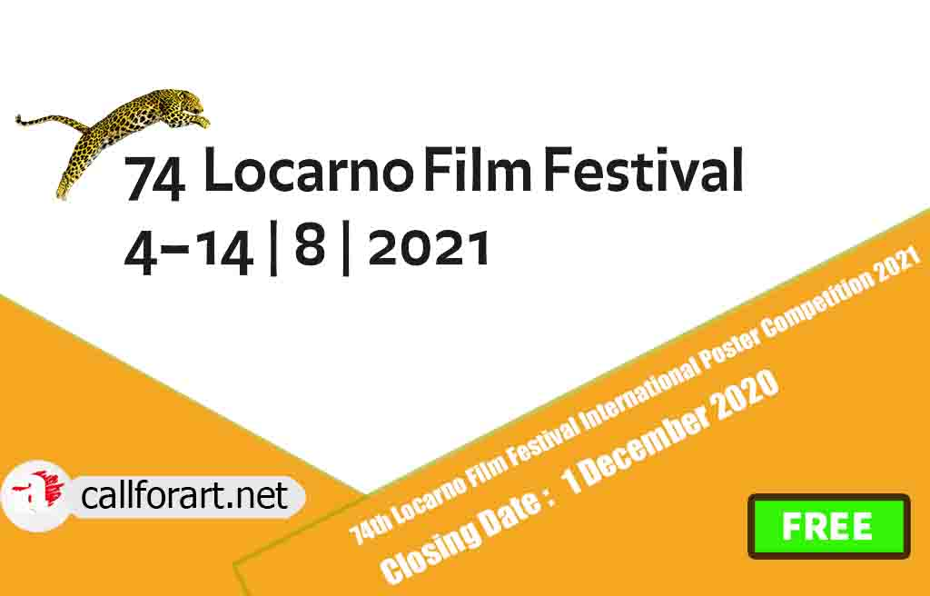 74th Locarno Film Festival International Poster Competition 2021