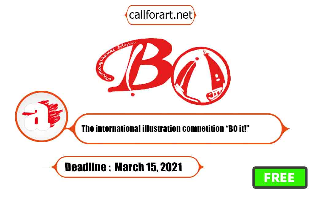 "The international illustration competition ""BO it!"""