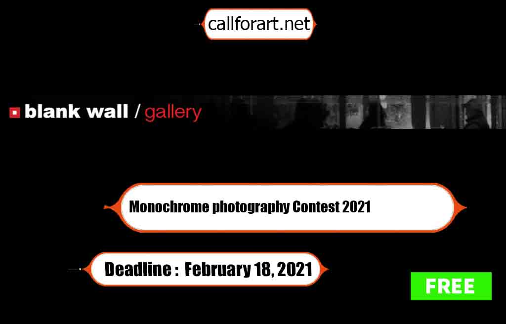 Monochrome photography Contest 2021