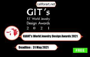 GIANT's World Jewelry Design Awards 2021